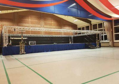 Bühne Mehrzweckhalle Materborn