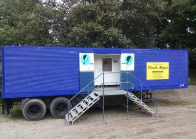 LKW Toilettenwagen Auflieger